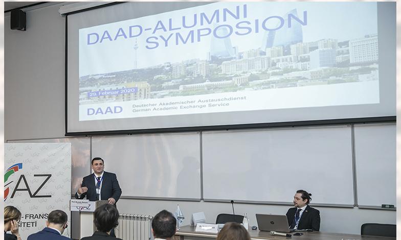 """ADNSU-da ilk """"DAAD-Alumni Simpoziumu"""""""
