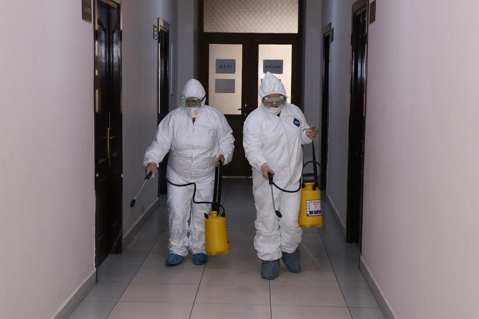 Azərbaycan Texniki Universitetində dezinfeksiya işləri aparılıb