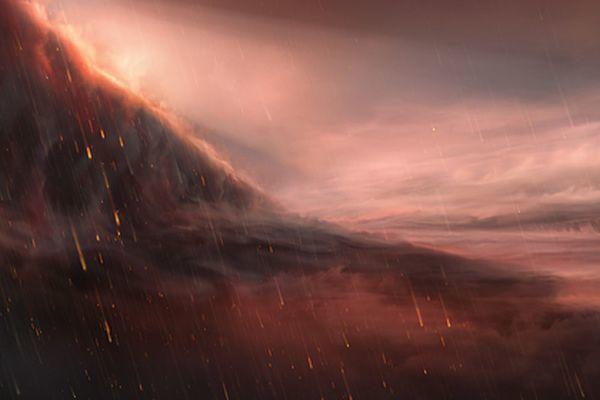 Metal yağış yağan planet tapıldı