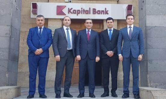 MDU ilə Kapital Bank arasında əməkdaşlıq imkanlarının müzakirəsi