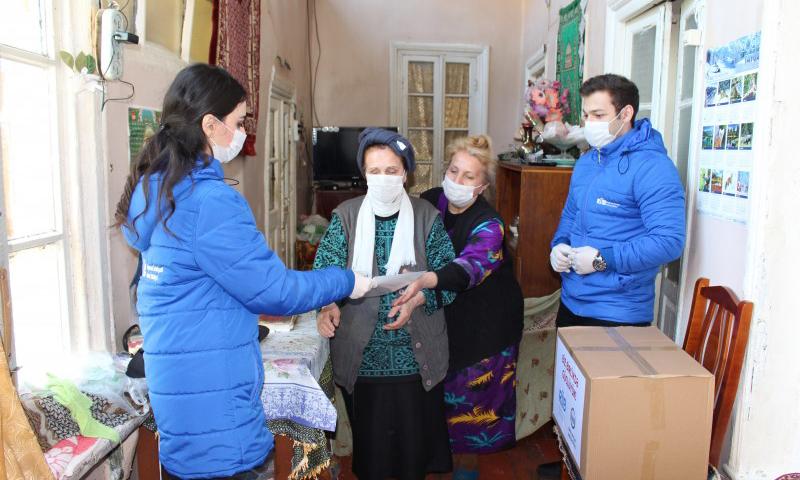 """""""Regional İnkişaf"""" İctimai Birliyi ilə Bakı Dövlət Universitetinin birgə sosial aksiyası"""
