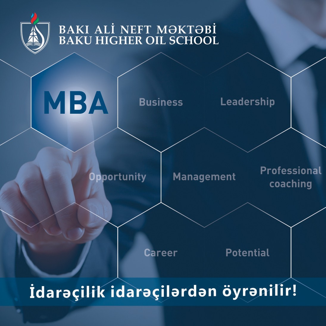 Bakı Ali Neft Məktəbi MBA proqramına qəbul elan edib