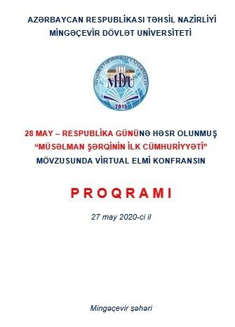 Mingəçevir Dövlət Universitetində 28 may – Respublika Gününəhəsr olunan konfrans keçirilib
