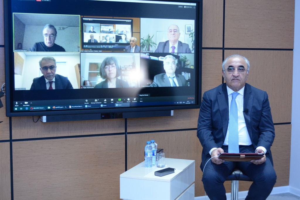 """UNEC Distant Ali Təhsil Beynəlxalq Forumu 2020: """"Yeni imkanlar və müasir çağırışlar"""""""