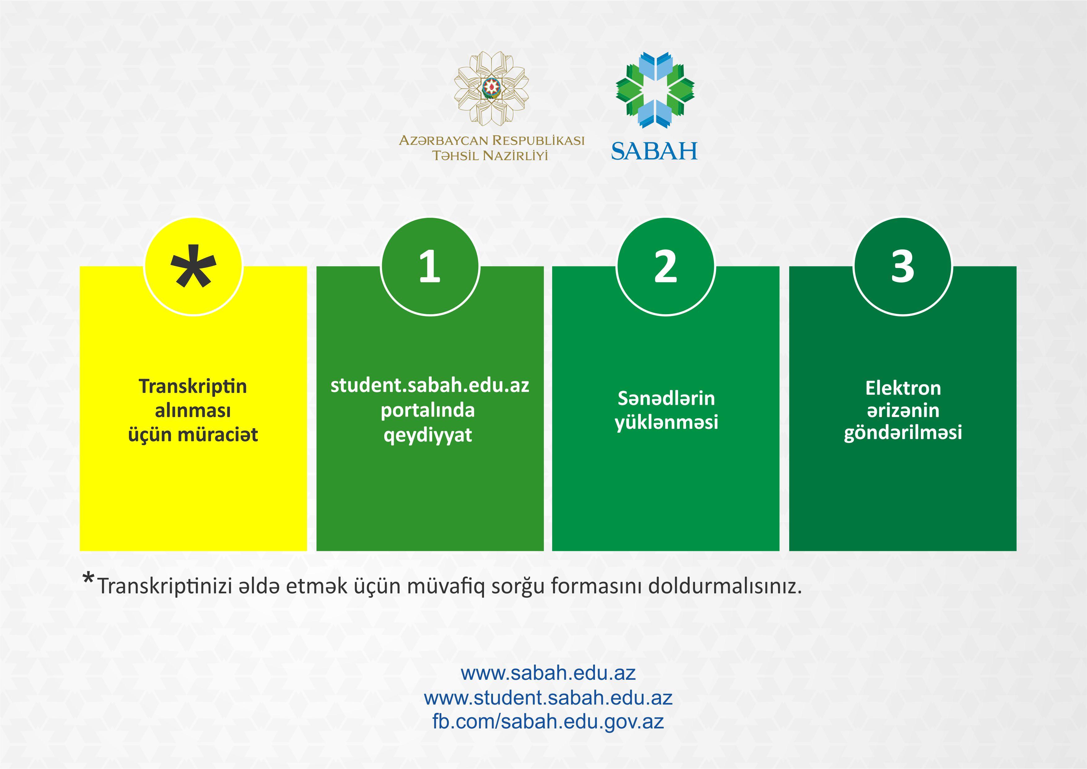 2020/2021-ci tədris ili üzrə SABAH qruplarına tələbə seçimi müsabiqəsində iştiraka dair şərtlər açıqlandı