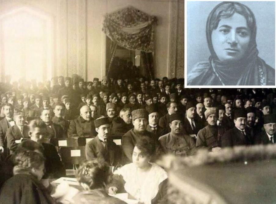 Azərbaycan Cümhuriyyəti Parlamentinin ilk qadın əməkdaşı - Məşhurların müəllimi