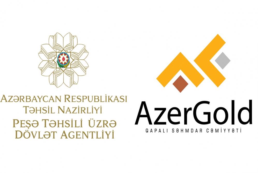 """Peşə Təhsili üzrə Dövlət Agentliyi """"AzerGold"""" ilə əməkdaşlıq edəcək"""