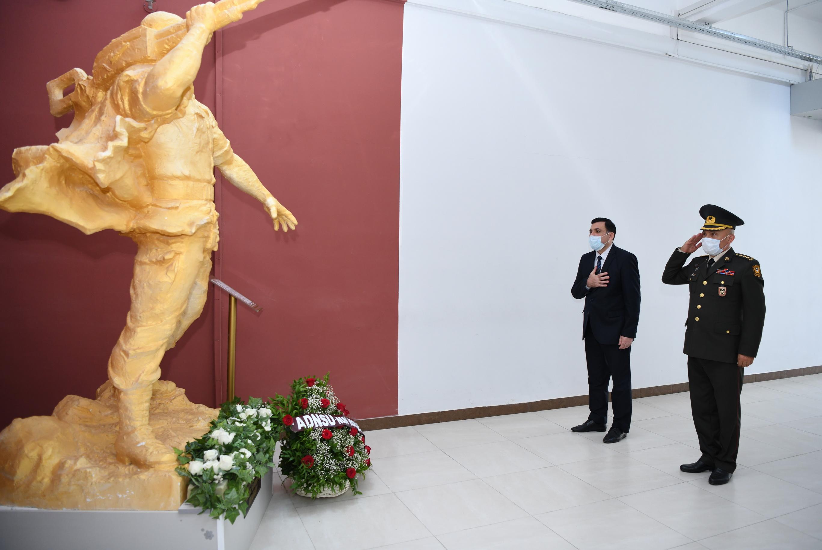 ADNSU-da Milli Qəhrəman Mübariz İbrahimovun xatirəsi yad edilib