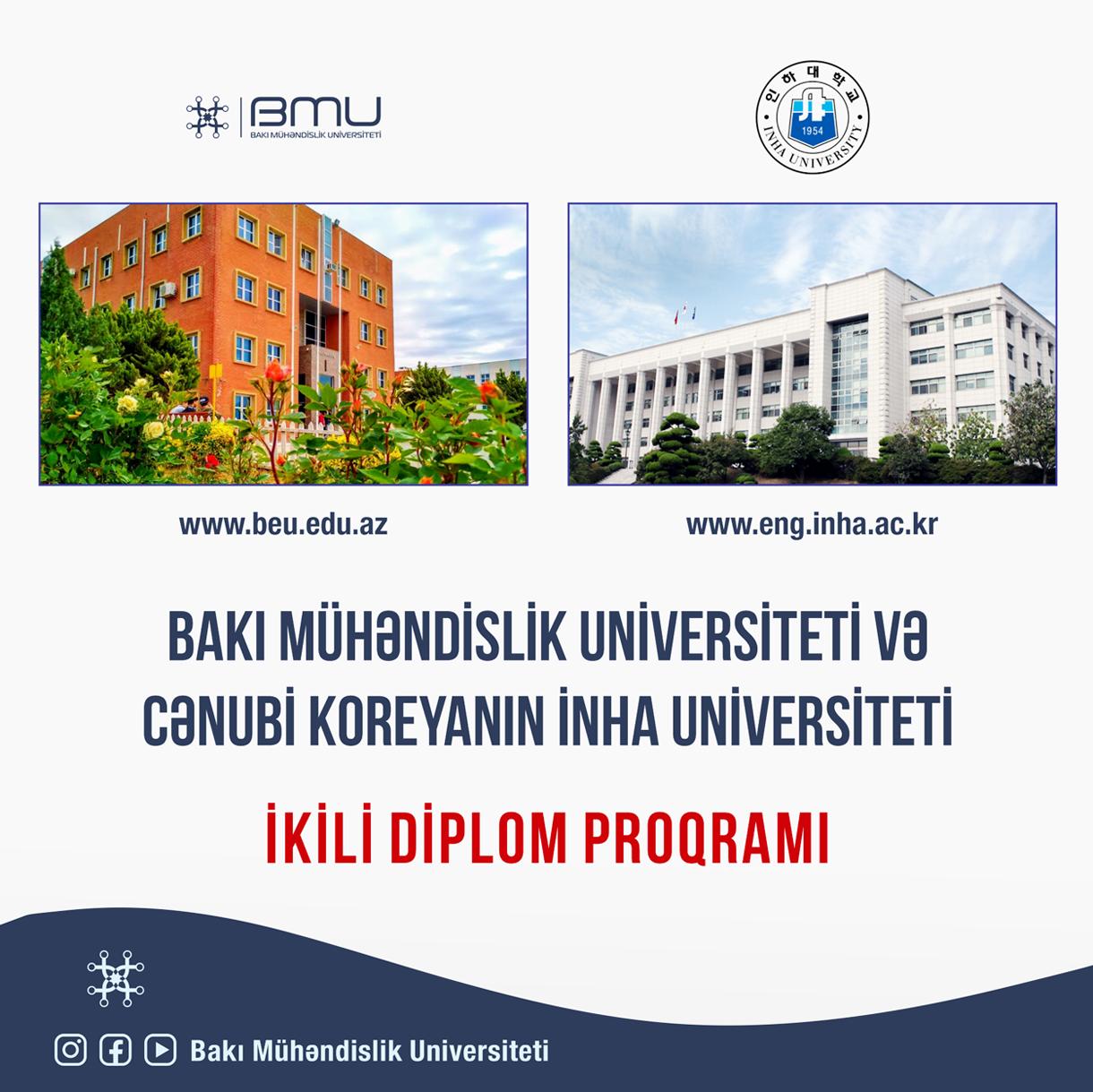BMU-da ikili diplom proqramı ilə bağlı işlər davam etdirirlir