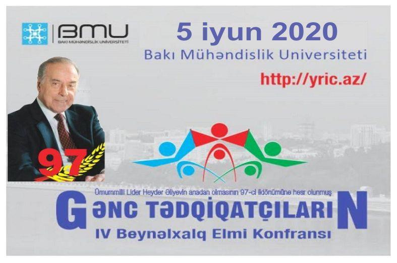 """""""Gənc tədqiqatçıların IV beynəlxalq elmi konfransı"""" onlayn keçiriləcək"""