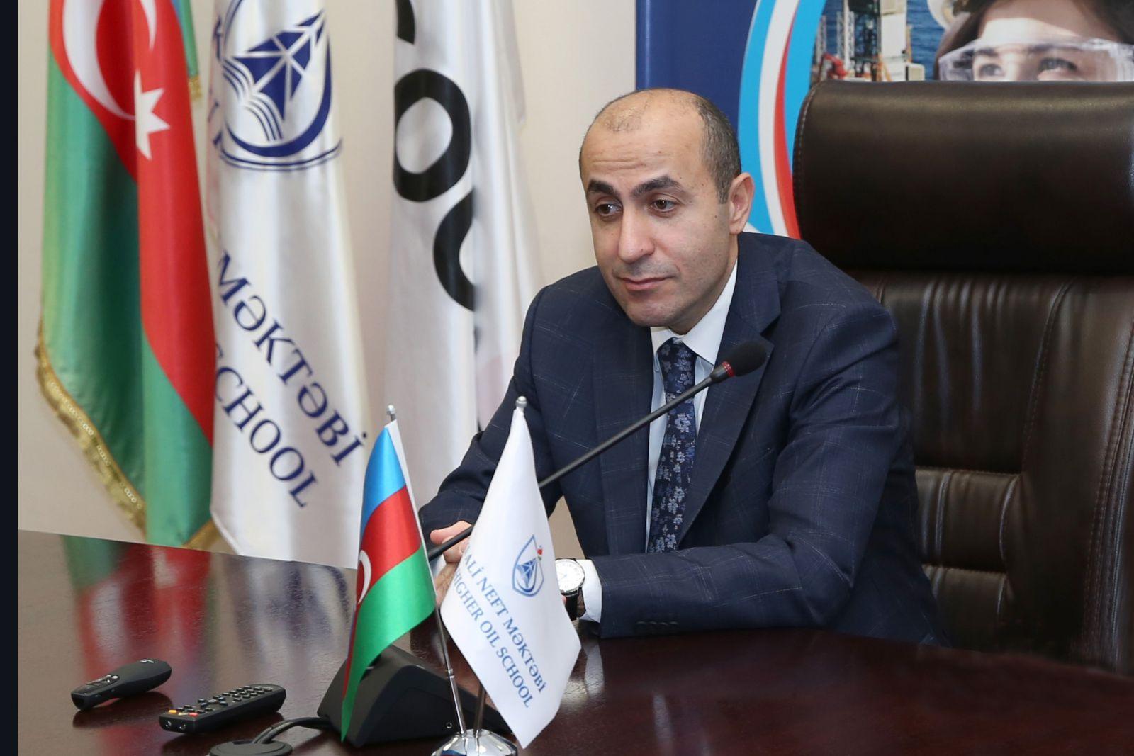 Bakı Ali Neft Məktəbinin prorektoru Rəşad Həsənovun xidməti vəzifəsi yüksəlib