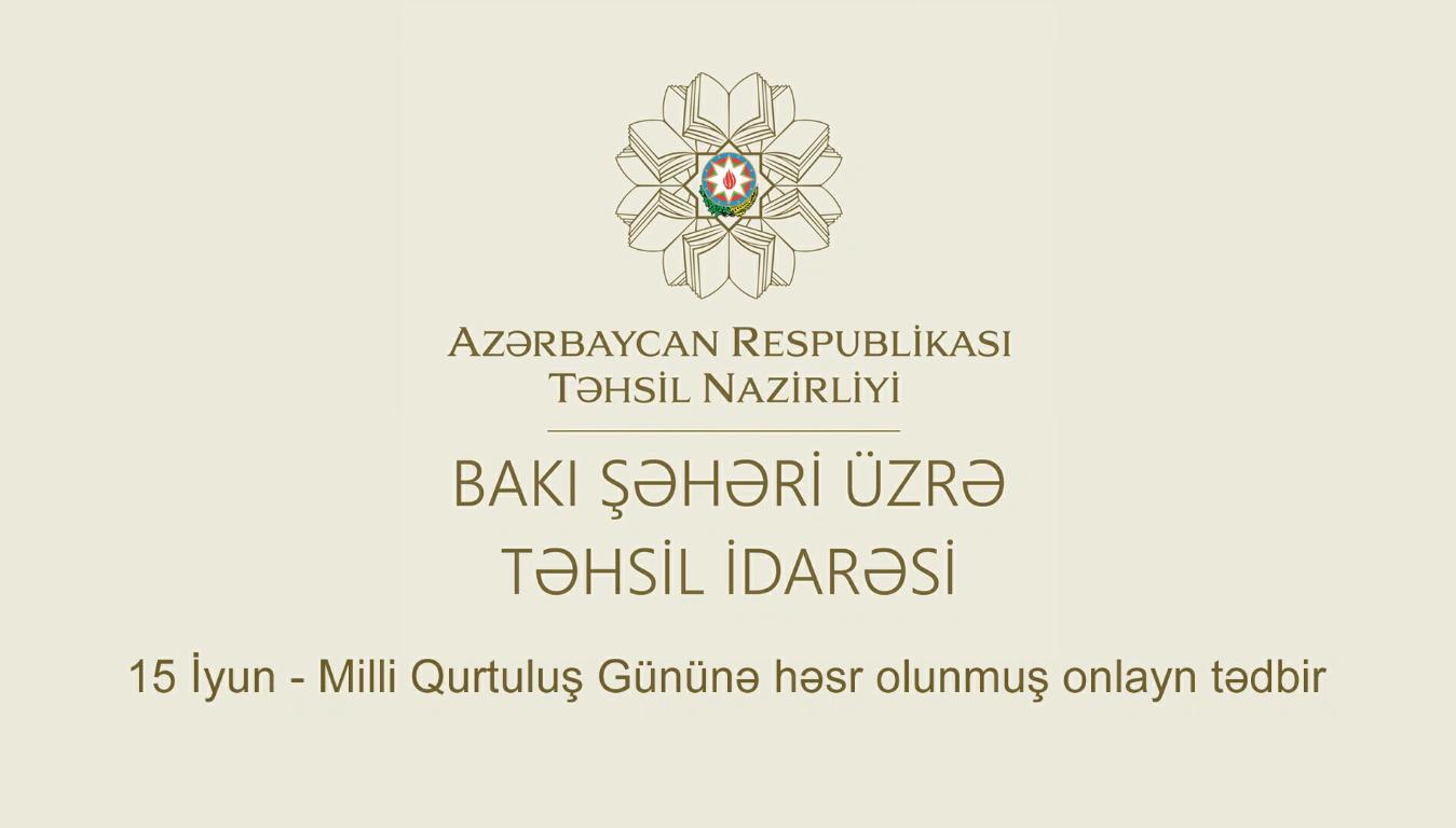 Milli Qurtuluş Gününə həsr olunmuş onlayn tədbir keçirilib