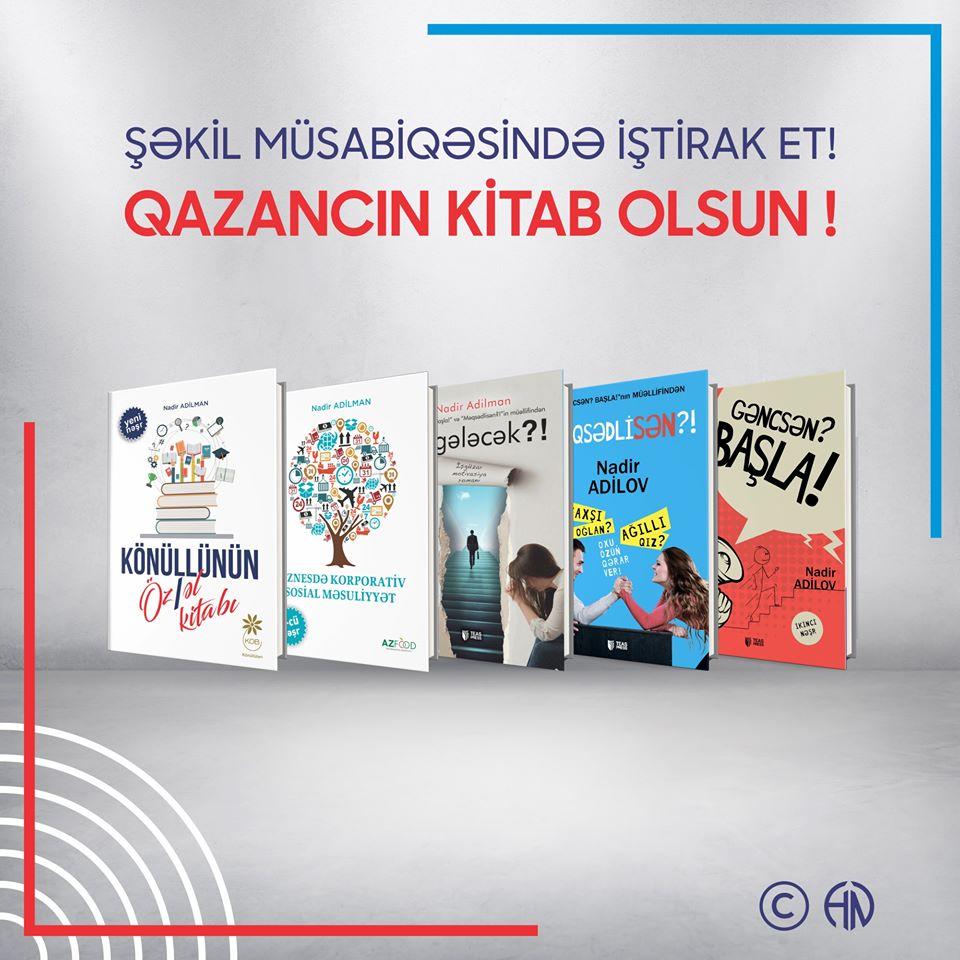 AzEdu.az tanınmış biznes inkişaf yazarı ilə maraqlı layihə edir - Bestsellər kitablar qazanın