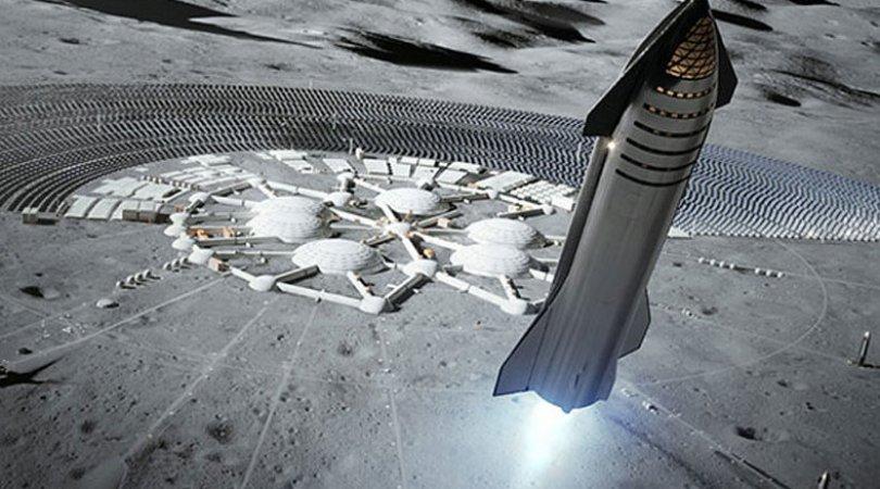 Elon Musk çətin sual qarşısında: Starship Aya necə enəcək?