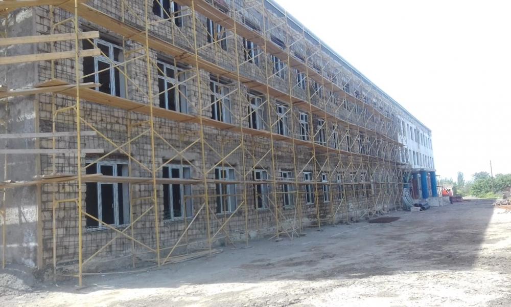 Qusarda 460 yerlik məktəb binası əsaslı təmir olunur