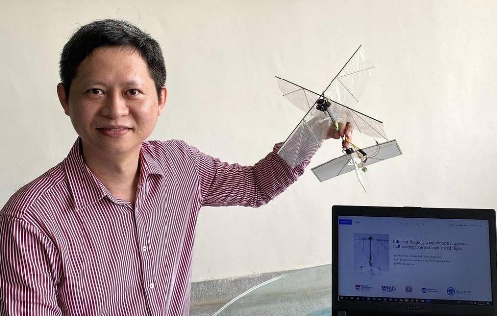 Mühəndislər quş kimi uça bilən robot düzəltdilər