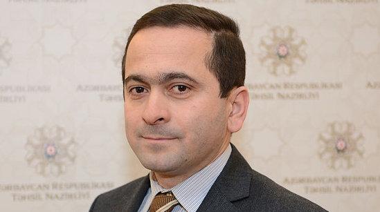 """Cəsarət Valehov """"Əməkdar Jurnalist""""adına layiq görülüb"""