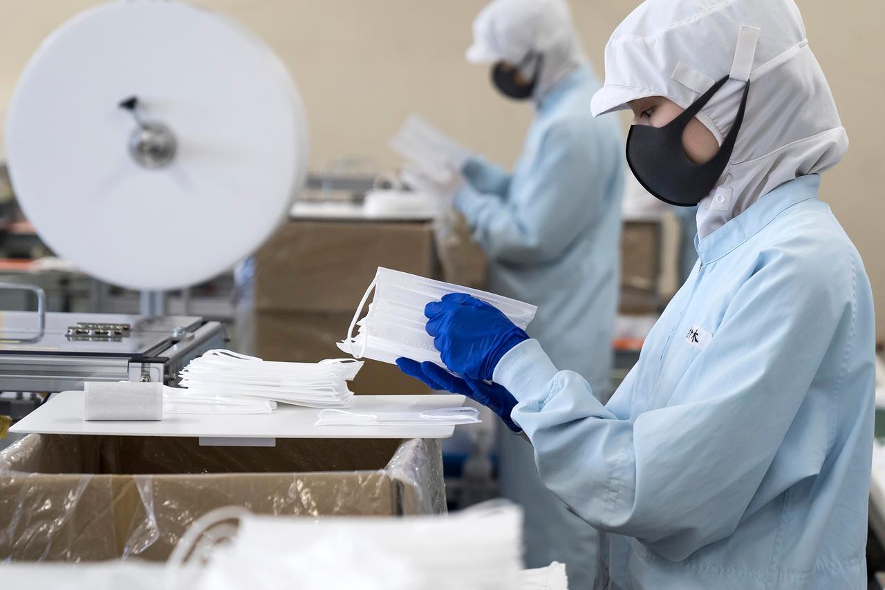 Koronavirusu məhv edən tibbi maska yaradıldı