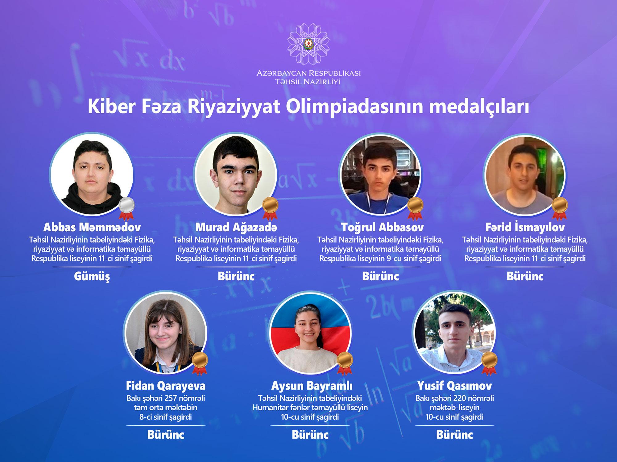 Azərbaycan məktəblilərindən daha bir beynəlxalq uğur