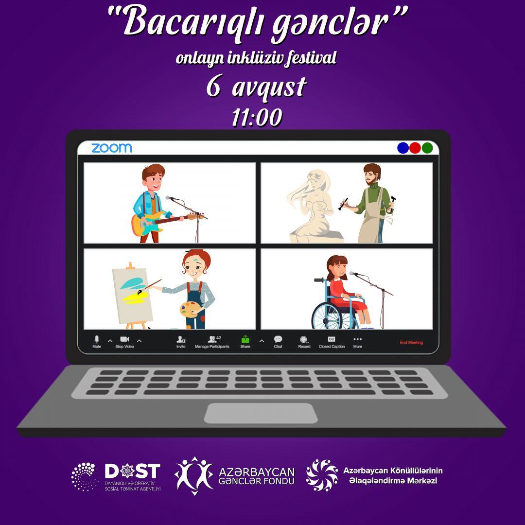 """""""Bacarıqlı gənclər"""" festivalı keçiriləcək"""