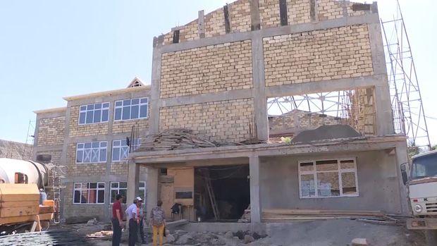 Yeni məktəb binaları inşa olunur-VİDEO