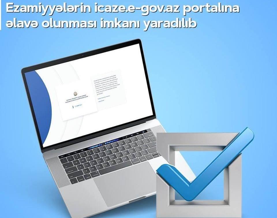 Rayonlara gedənlərin nəzərinə:icaze.e-gov.az portalında ezamiyyə almaq imkanı yaradıldı