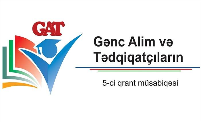 Gənc Alim və Tədqiqatçıların 5-ci qrant müsabiqəsi elan olunub