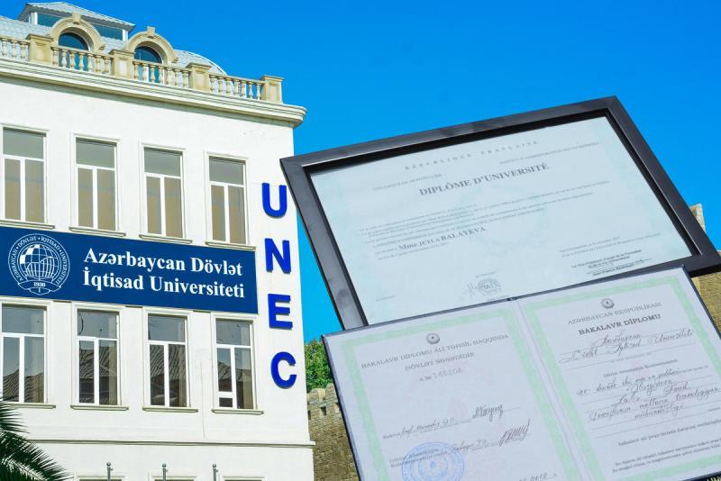 UNEC İSE və SABAH məzunlarının nəzərinə:Diplomlar hazırdır