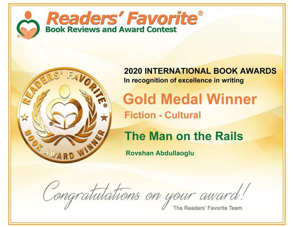 Azərbaycanlı yazıçının kitabı Amerikada qızıl medala layiq görüldü