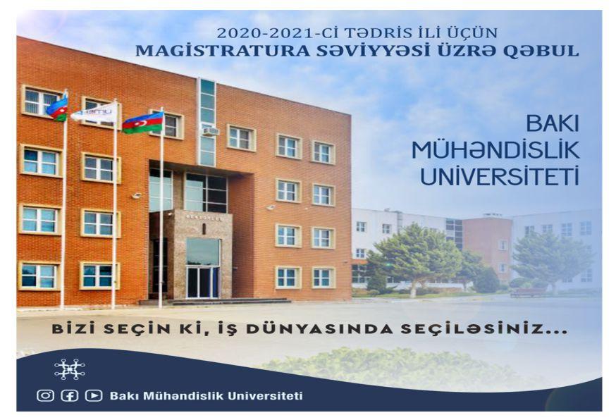 BMU-nun magistratura üzrə qəbul planı 98 faiz dolub