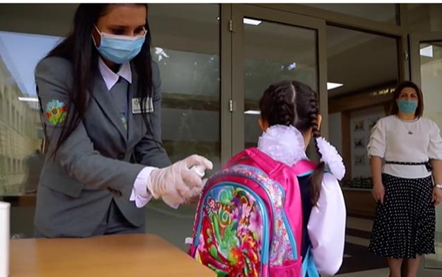 Qubanın bu məktəbində 8 müəllim koronavirusa yoluxdu - Tədris dayandırıldı