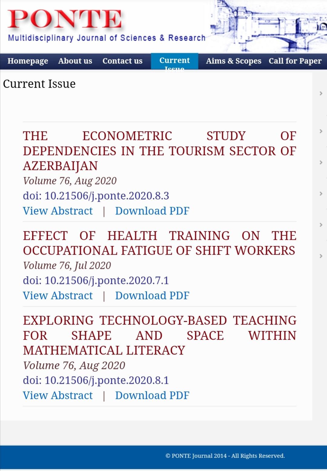 UNEC müəlliminin elmi məqaləsi beynəlxalq indeksli jurnalda dərc edilib